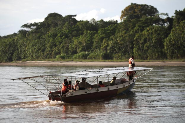 solar canoe