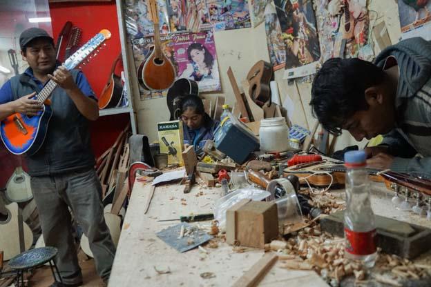 artisan instruments peru