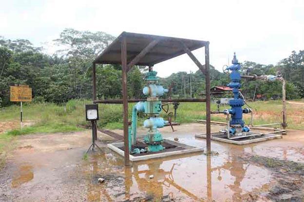 pozo - oil well